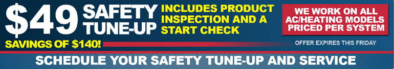 ac safety tune-up and services