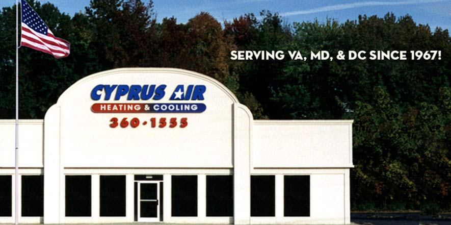 Why Choose Cyprus Air, Heating and Cooling Alexandria, VA
